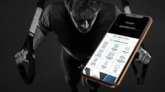 BELAQVA este pe aplicația de mobil UPfit.today